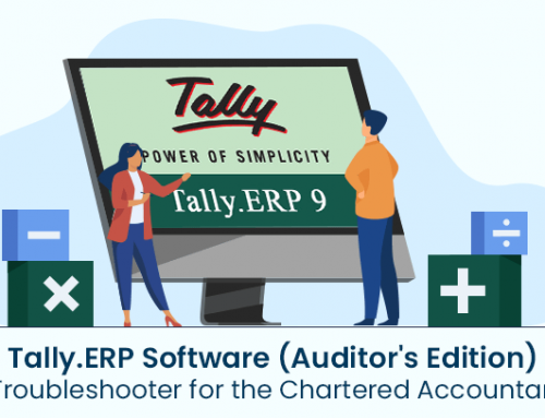 Tally.ERP Software (Auditor's Edition): A Troubleshooter for the Chartered Accountants