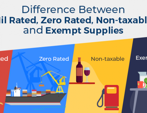 What is the Difference Between Nil-Rated, Zero-Rated, Non-Taxable and Exempt Supplies?
