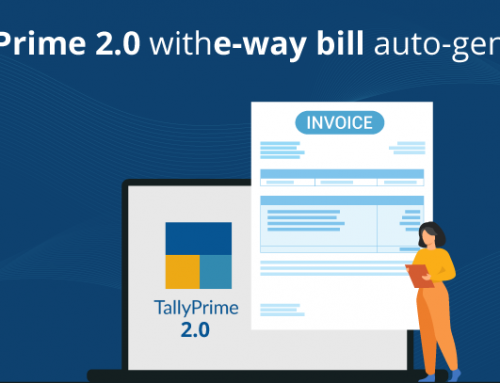 TallyPrime 2.0 With E-way Bill Auto-generate Feature